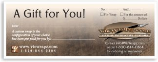 VicWrapz Gift Certificate